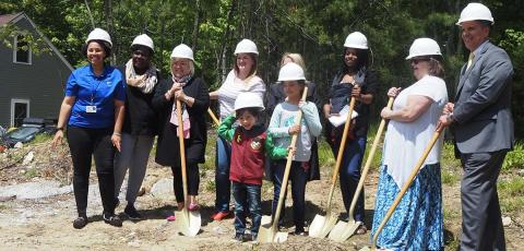 Shovels for a neighborhood grows in Pascoag